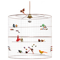 HANGING LAMP, Bird Cage, Large