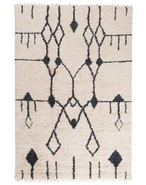 RUG Aragon, Wool, White/Black