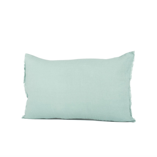 CUSHION COVER, Linen, 40x60cm, Celadon