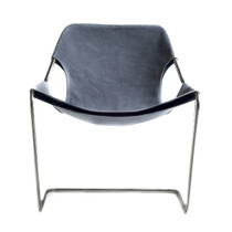 Outdoor Chair PAULISTANO, Black & Taupe Grey