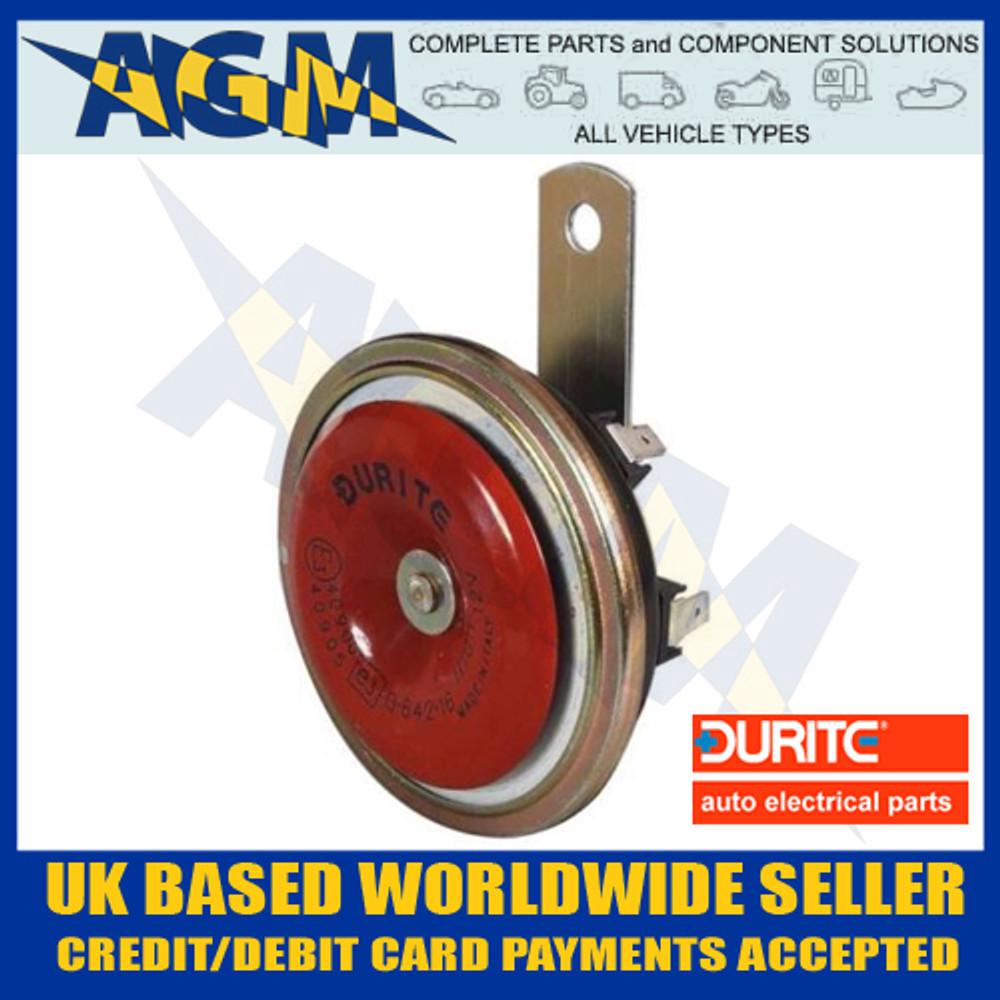 durite, 064216, 0-642-16, 12v, high, tone, electric, disc, horn