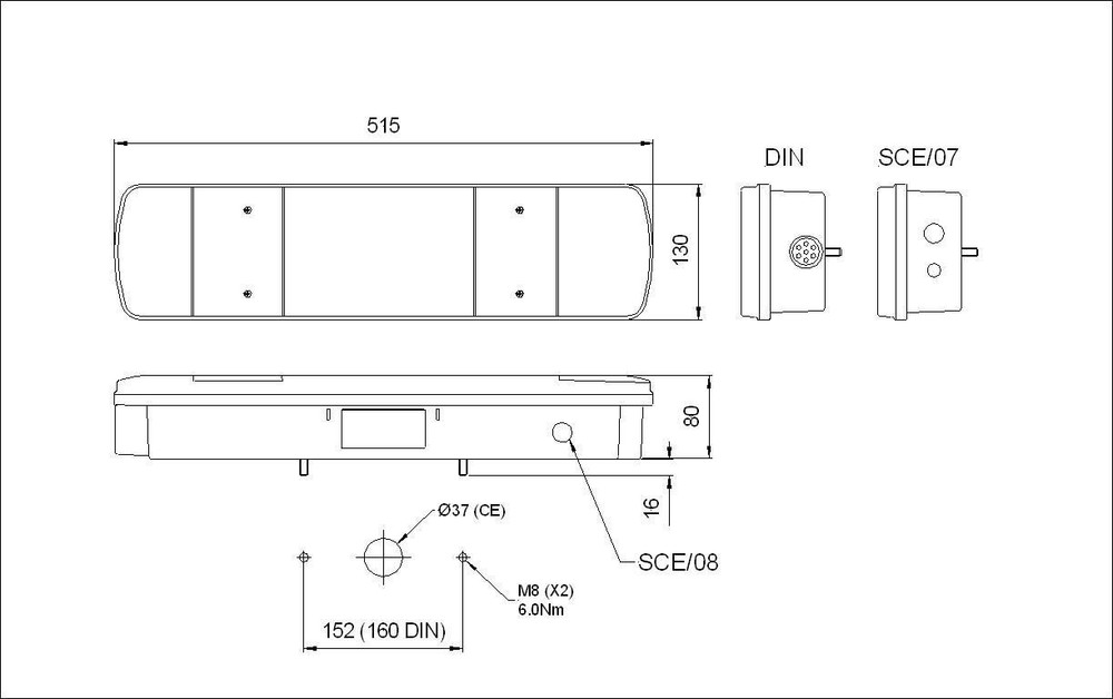 461DIN0847__25618.1407405346?c=2 lite rubbolite 461din 08 47 scania 4 r series lh rear lamp with scania 4 series wiring diagram at bakdesigns.co