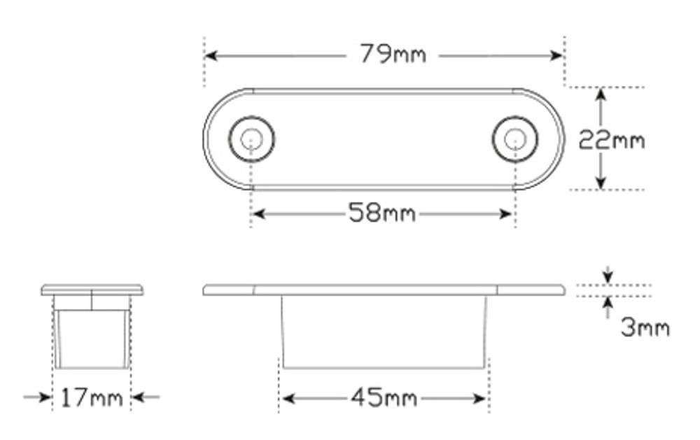 Led Auto-l&s 7922WM2 Front End Outline Marker L&s  sc 1 st  AGM (Complete Parts u0026 Component Solutions) : led autolamps wiring diagram - yogabreezes.com