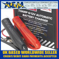 Sealey SDC75 Battery Charger, 6/12 Volt 7.5 Amp 230 Volt Clamps