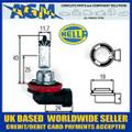 HELLA 12v H11 PGJ19-2 55w Halogen Headlamp Bulb (Single Bulb)