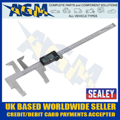 sealey, vs0567, digital, brake, disc, drum, measuring, gauge, caliper