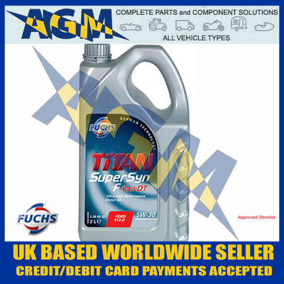 Fuchs 600921958 Supersyn F ECO-DT 5w/30 Synthetic Oil 5 LTR