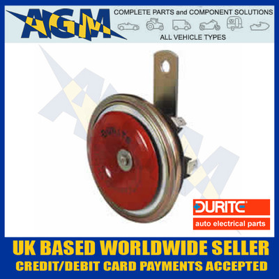 durite, 0-642-27, disc, horn, 24v, 340hz, low, tone