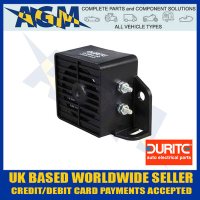 0-564-00, 056400, durite, back, up, reverse, alarm, 12v, 48v, 97db, bleeper