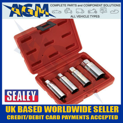 sealey, ak6556, spark, plug, socket