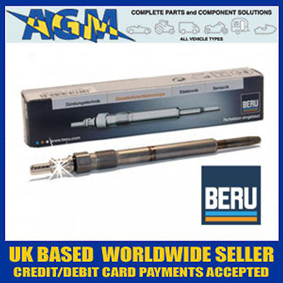 BERU GN046 Glow Plug For VW 1.4TDi + 1.9TDi 2001 to 2005