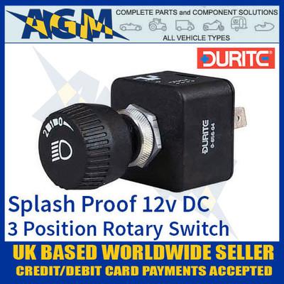 durite, 065604, 0-656-04, splash, proof, rotary, switch