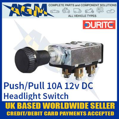 0-645-50, 064550, durite, headlight, push, pull, switch