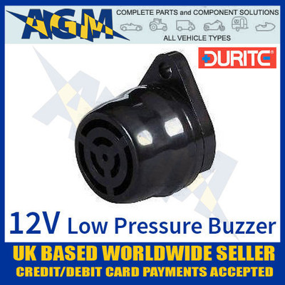 durite, 056212, 0-562-12, 12v, low, pressure, warning, buzzer, 90db