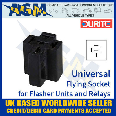 durite, 0-729-02, 072902, flying, socket, flasher, relay