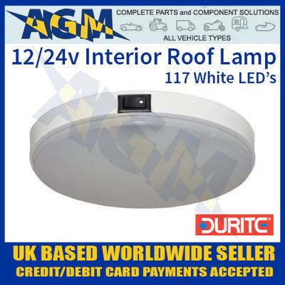 0-668-13, 066813, durite, 12v, 24v, white, led, vehicle, roof, lamp