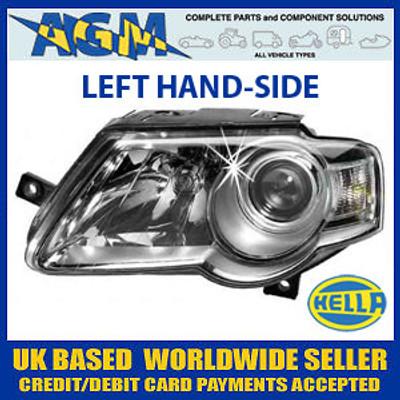 HELLA MK5 Volkswagen Passat Headlight LEFT (2005 On)