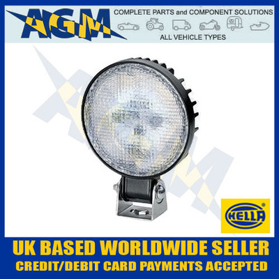 hella, 1g4 011 722-001, ap1200, round, led, work, search,  lamp