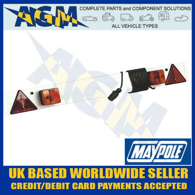 maypole, led, trailer, board, mp8663b, lamp, mp253p