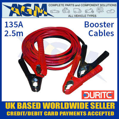 Durite 0-204-00 Set of Two Slave Leads 135A 2.5m