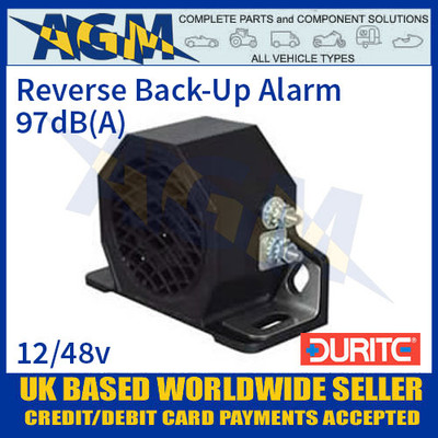 Durite 0-564-02 Reverse Back-Up Alarm