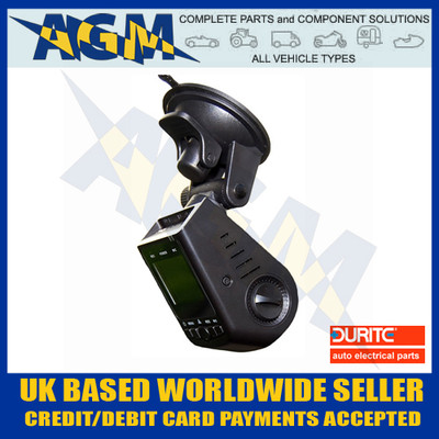 Durite 0-776-60 HD 12v Dash Camera and GPS / Dash Cam