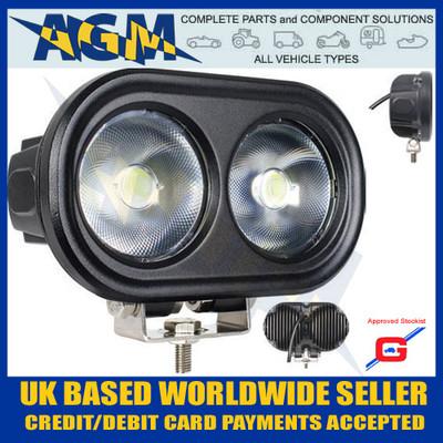 round, 6400, lumens, guardian,  led, multi, voltage, worklamp, for marine, truck, van etc, wl63, led light, lamp, 50w, 4000 lumens