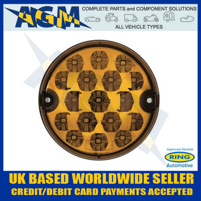 ring, rcv4506, led, amber, lens, indicator, lamp