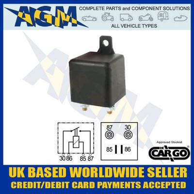 cargo, 160477, 100a, 12v, heavy, duty, make, break, relay