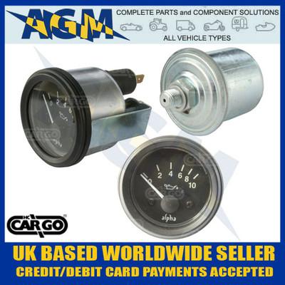 cargo, 160700, oil, pressure, gauge, sender, 12v, 52mm