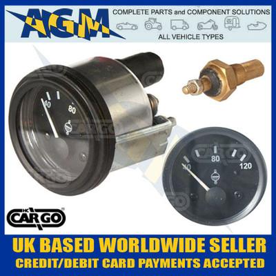 cargo, 160699, marine, style, 12v, water, temperature, gauge, sender