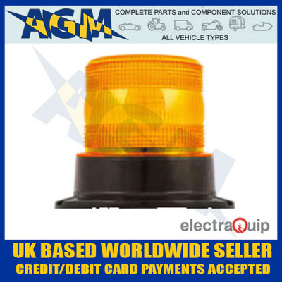electraquip, eqpr65abm, three, bolt, r65, led, amber, beacon