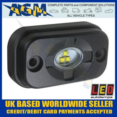 led, autolamps, 7705bm, heavy, duty, compact, flood, clearance, scene, lamp