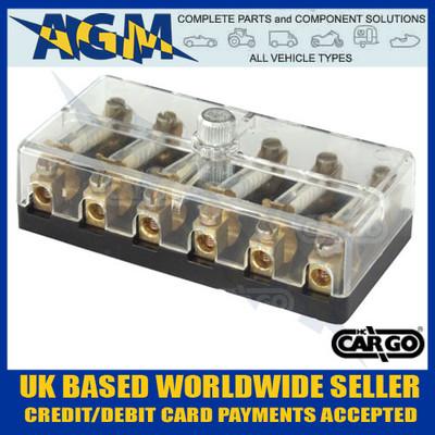cargo, 190772, fuse, box, ceramic, fuses,  6way