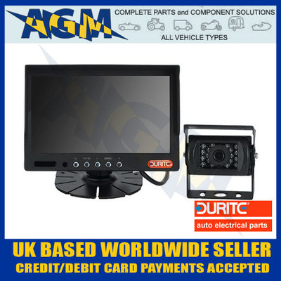 "durite, 0-776-66, cctv, 7"", colour, monitor, camera, kit, 12v, 24v"