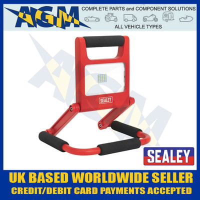 Sealey LED170 LED Rechargeable Fold Flat Flood Light