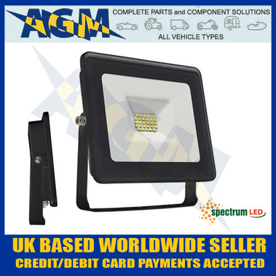 Spectrum Lux SLI029024CW Noctis 10W Led Flood Light