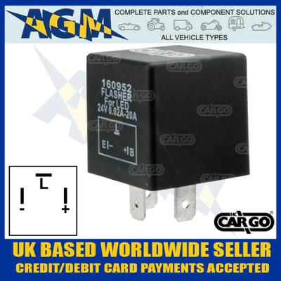 Cargo 160952 LED Flasher Unit, 24v