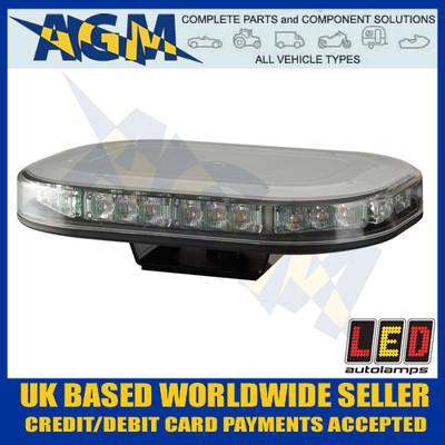 Led Auto-Lamps MLB246R10AMB Single Bolt Led Microbar - Super Low Profile, 12/24v