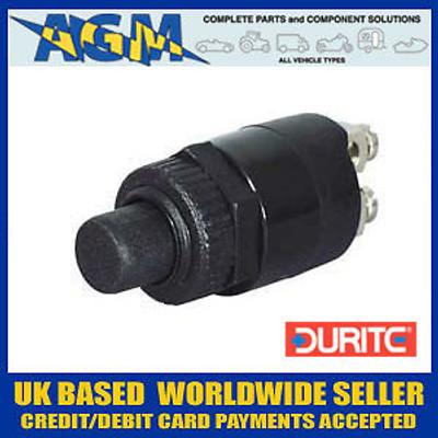 Durite  0-485-02 Single Pole Push Button Switch 10 Amp