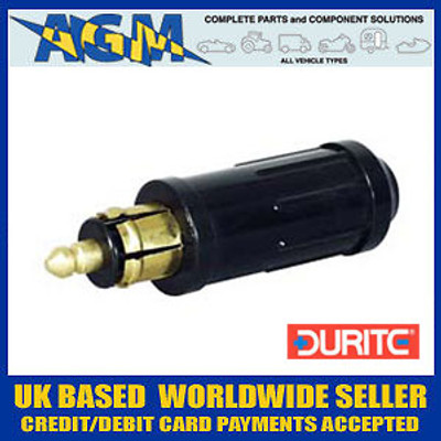 Durite 0-601-26 Single DIN 16 Amp Plug