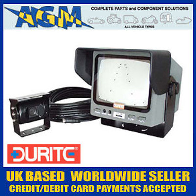 Durite 5.5 inch Monochrome CCTV Safety Reversing/Surveillance Camera System