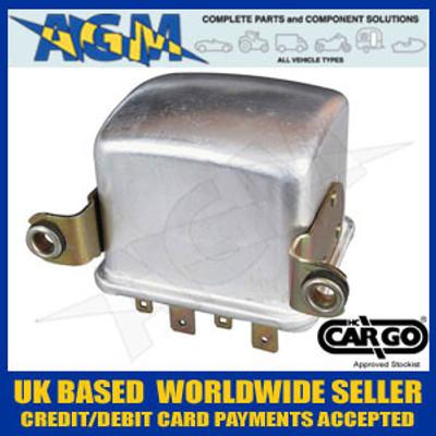 Cargo 130041 Amp Regulator Box - LUCAS Type RB108, NCB118, 12V