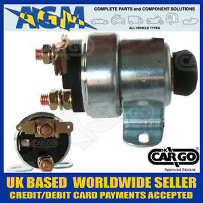 Cargo 233954 Push Button Solenoid Equivalent to - LUCAS SRB716