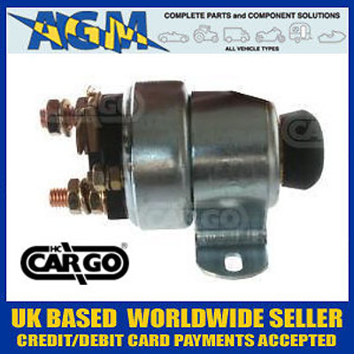 Cargo 233955 Push Button Solenoid - Equivalent to LUCAS SRB319