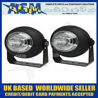 Cargo 171359 SIM EUROPA Ultra Compact Driving Lamp Set 12/24v