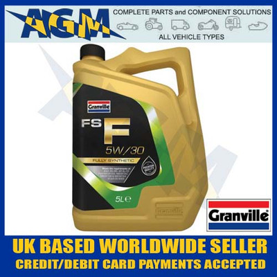 granville, fs-f, 5w30, fully, synthetic, c1, engine, oil