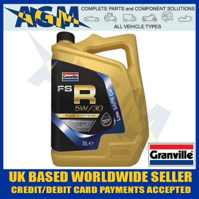 granville, fs-r, 5w-30, fully, synthetic, low, saps, c4,  engine, oil