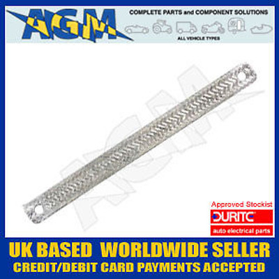 DURITE 0-568-18 Universal Tinned Copper Flat Bonding Strap 450mm
