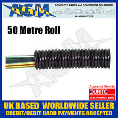 Durite 0-331-10 Convoluted Split Trunking 10 NW - 50 metres